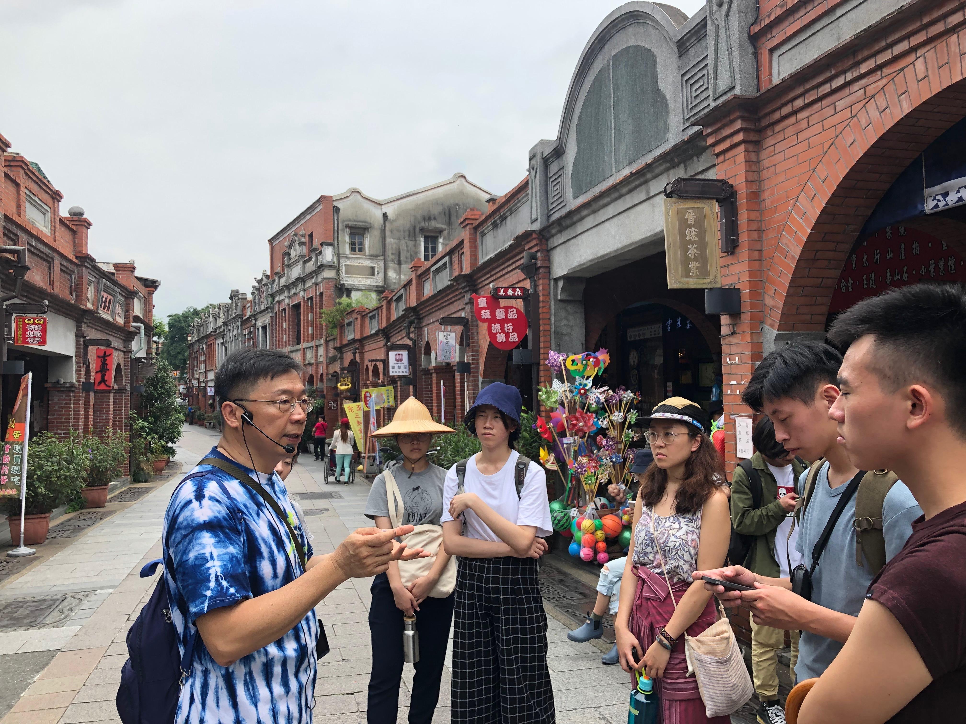 field visit in Sanxia