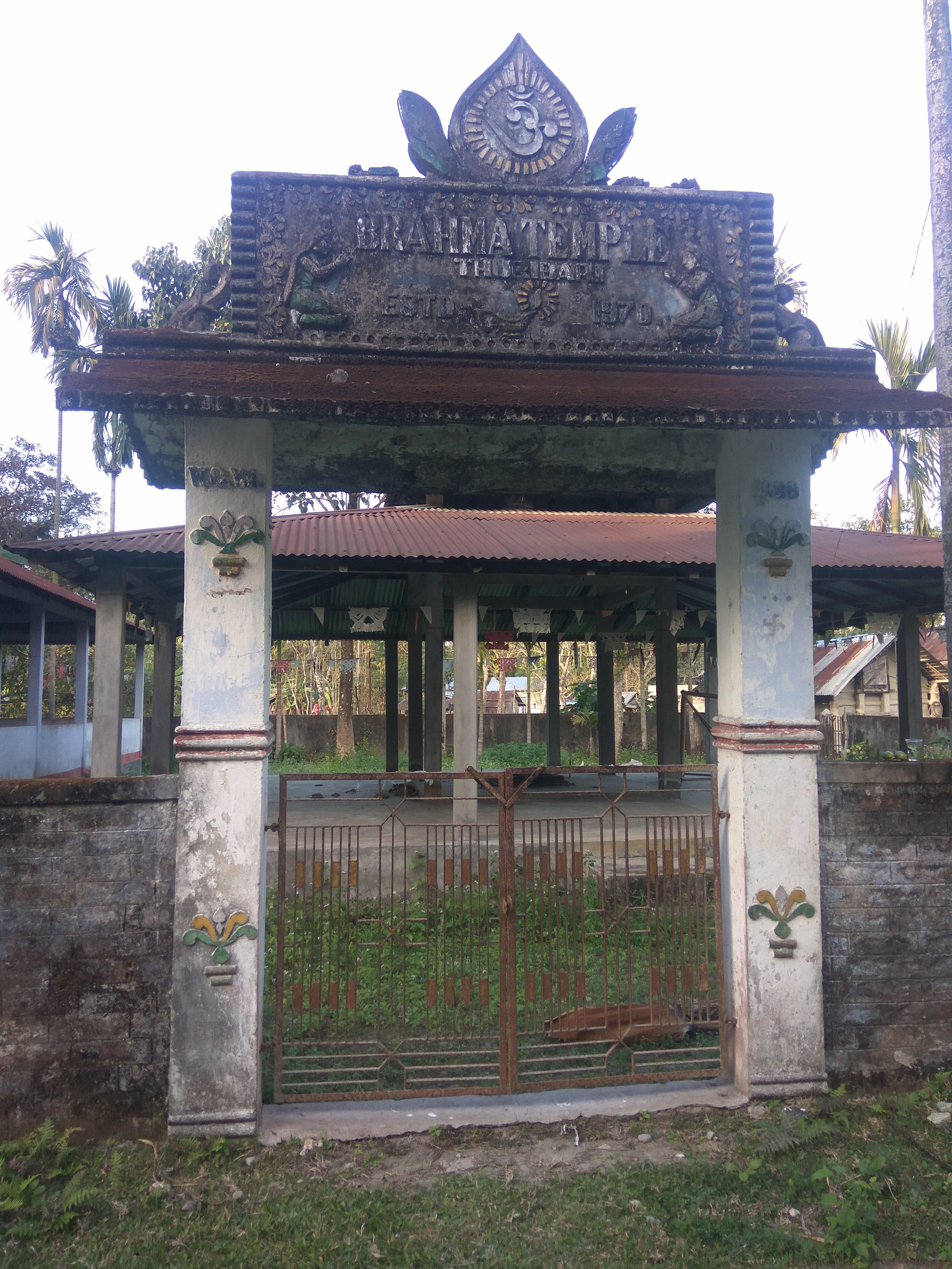 temple, community